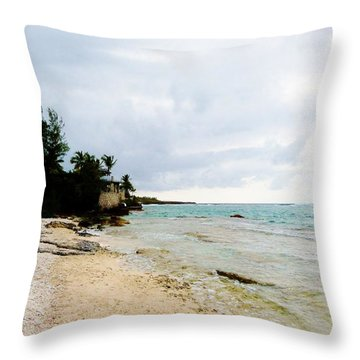 Throw Pillow featuring the photograph Cliff House 2 by Amar Sheow