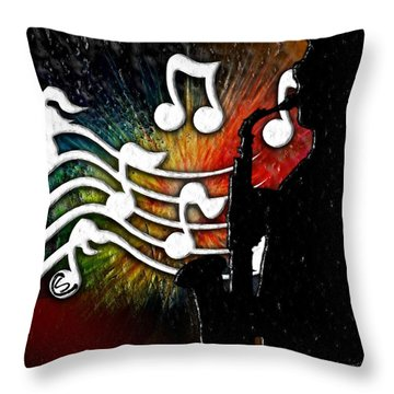 Cliff Notes Throw Pillow