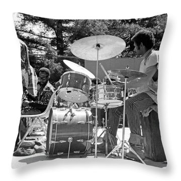 Clifford Jarvis 1968 Throw Pillow by Lee  Santa