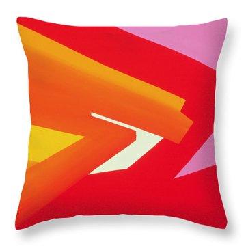 Climax Throw Pillow by Izabella Godlewska de Aranda
