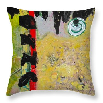 Climb Into Heaven Or Hell Throw Pillow