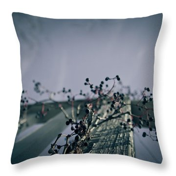 Cling To You Throw Pillow by Shane Holsclaw
