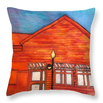 Clinic Throw Pillow