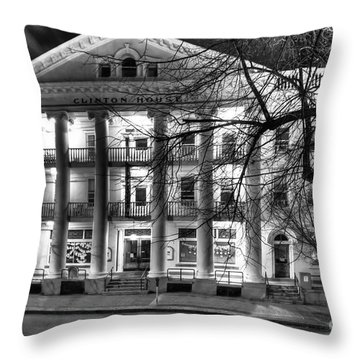 Clinton House Ithaca Throw Pillow