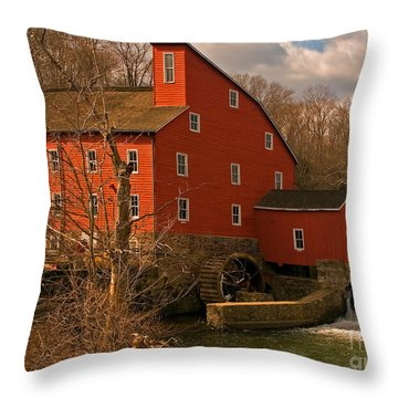 Clinton Mill Throw Pillow