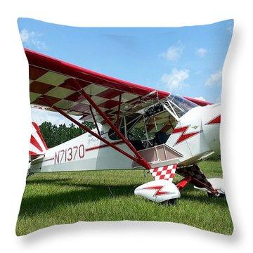 Clipped Wing Cub Throw Pillow by Matt Abrams