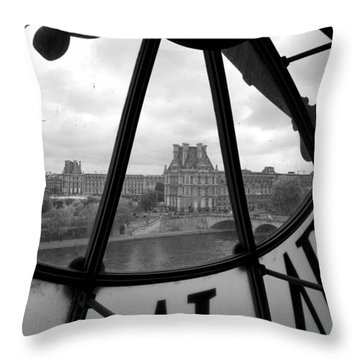 Louvre Throw Pillows