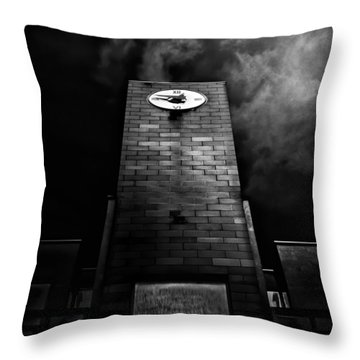 Clock Tower No 110 Davenport Rd Toronto Canada Throw Pillow by Brian Carson