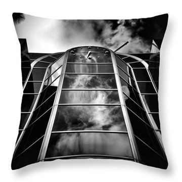 Clock Tower No 1920 Yonge St Toronto Canada Throw Pillow by Brian Carson