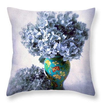 Cloisonne  Throw Pillow by Jessica Jenney