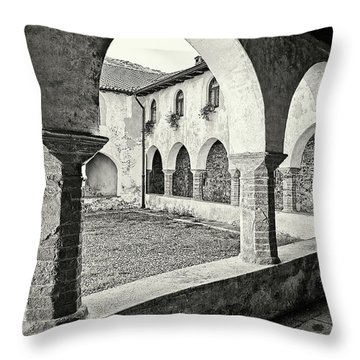 Cloister Throw Pillow