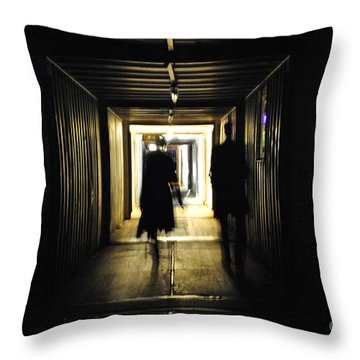 Throw Pillow featuring the photograph Close Encounters Of The Third Kind by Maja Sokolowska