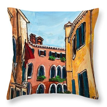 Close Quarters Throw Pillow