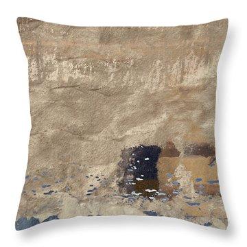 Close To Shore Throw Pillow by Carol Leigh