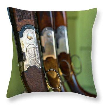 Beretta Throw Pillows