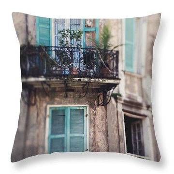 Throw Pillow featuring the photograph Close Your Eyes And Dream by Heather Green