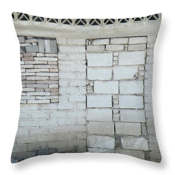 Throw Pillow featuring the photograph Closed by Brian Boyle
