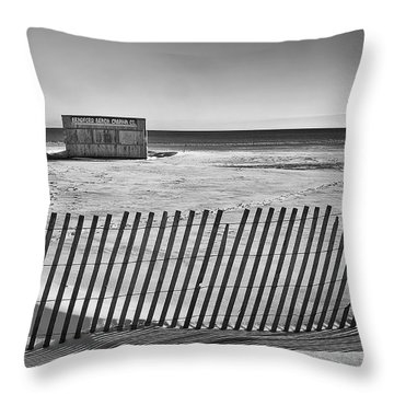 Closed For The Season Throw Pillow by Scott Norris