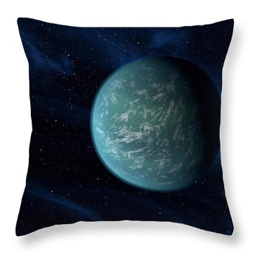 Closer To Finding An Earth Throw Pillow by Movie Poster Prints