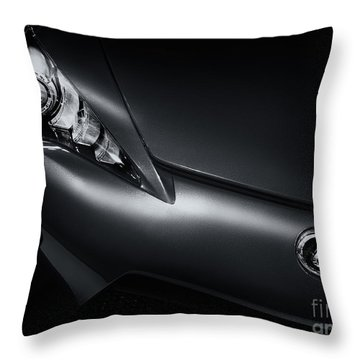 Closeup Of Lexus Lfa Car Throw Pillow