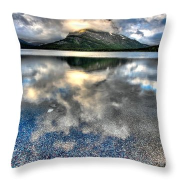 Throw Pillow featuring the photograph Cloud Catcher by David Andersen