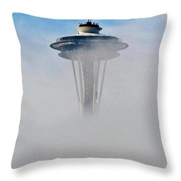 Cloud City Needle Throw Pillow