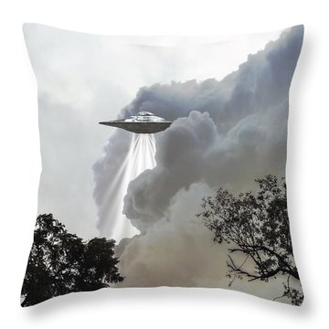 Cloud Cover Throw Pillow by Brian Wallace
