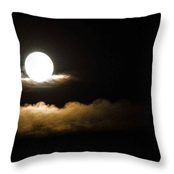 Cloud Cradle  Throw Pillow