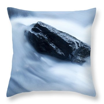 Cloud Falls Throw Pillow by Edward Fielding