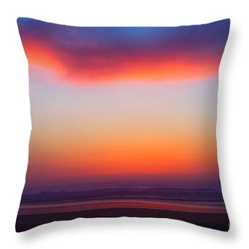 Cloud Hold The Sun Throw Pillow by Adria Trail