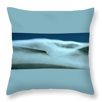 Cloud Mountain Throw Pillow
