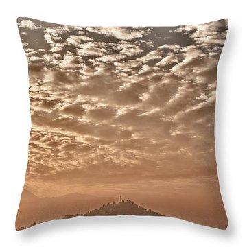 Cloud Over Kathmandu Throw Pillow