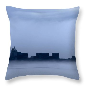Cloud Ship Throw Pillow