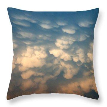 Cloud Texture Throw Pillow