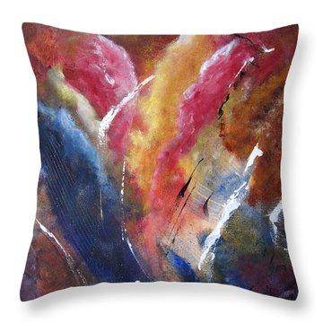 Cloudburst Throw Pillow