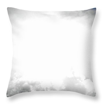 Cloudburst Sky Celestial Cloud Art Xl Resolution Throw Pillow