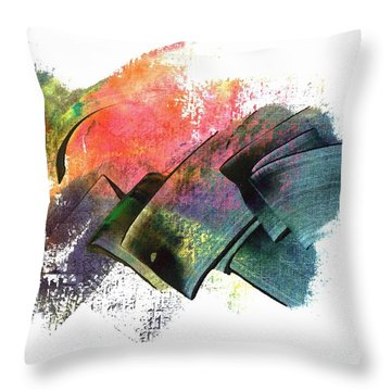 Clouded Judgement Throw Pillow