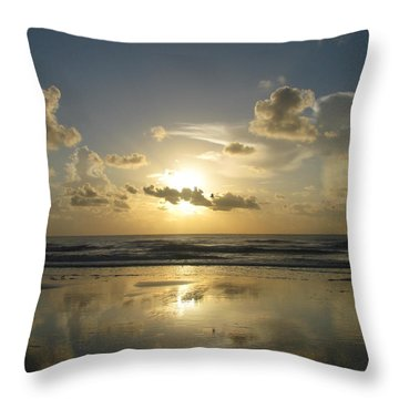 Clouds Across The Sun 2 Throw Pillow by Ellen Meakin