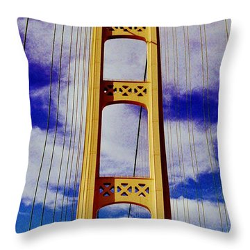 Throw Pillow featuring the photograph Clouds by Daniel Thompson