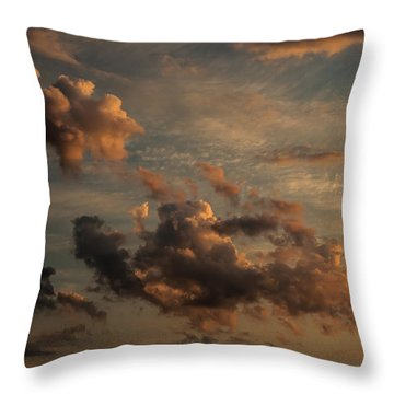 Throw Pillow featuring the photograph Clouds For Rembrandt by Julis Simo
