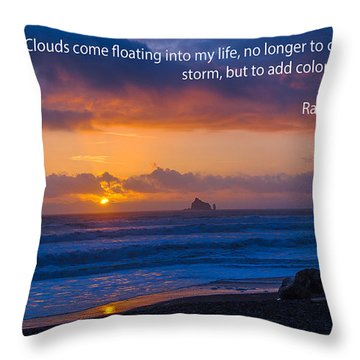 Clouds In Life Throw Pillow