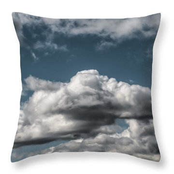 Throw Pillow featuring the photograph Clouds by Leif Sohlman