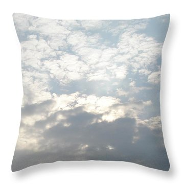 Clouds One Throw Pillow
