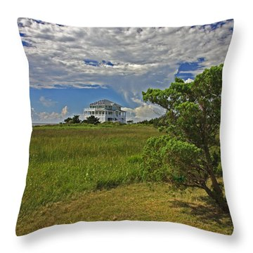 Clouds Over Hatteras Throw Pillow