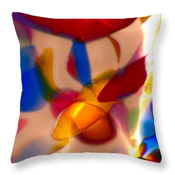 Clowning Around Throw Pillow by Omaste Witkowski