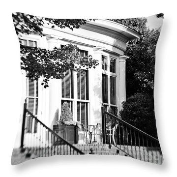Club House Throw Pillow by Scott Pellegrin