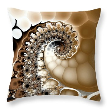 Clutch Throw Pillow by Kevin Trow