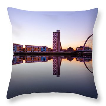 Clyde Arc  Throw Pillow by John Farnan