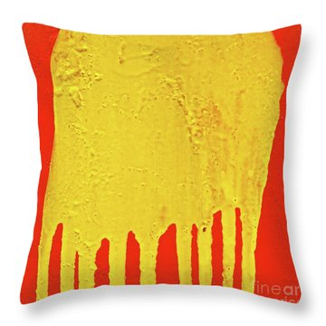 Throw Pillow featuring the photograph Clyde by CML Brown