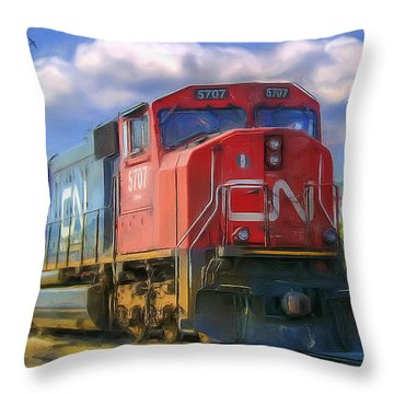 Cn 5707 Throw Pillow